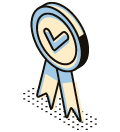 a ribbon for achievement