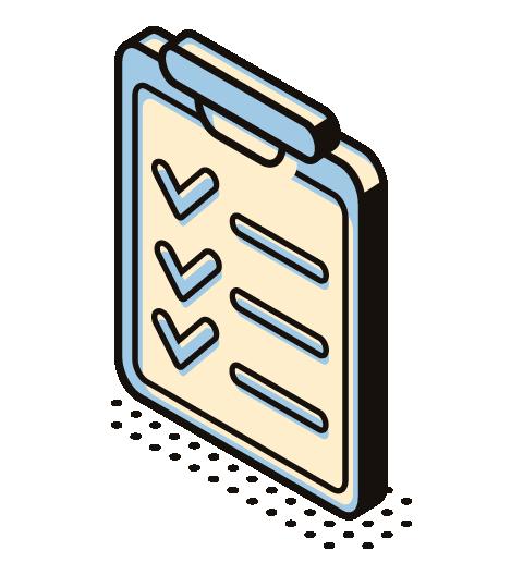 a project checklist